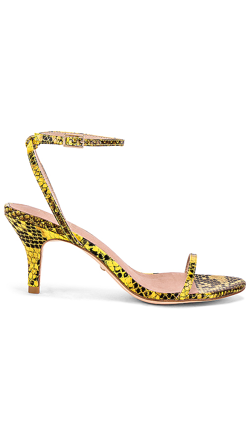 RAYE Bridge Heel in Yellow. - size 7 (also in 5.5,6,6.5,7.5,8,8.5,9,9.5)