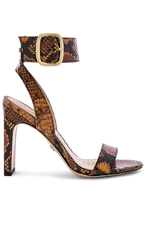 Sam Edelman Yola Sandal in Burnt Orange. - size 8 (also in 6,6.5,7,7.5,8.5,9,9.5,10)