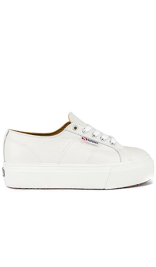 Superga 2790 Fglw Sneaker in White. - size 10 (also in 6,6.5,7,7.5,8,8.5,9,9.5)