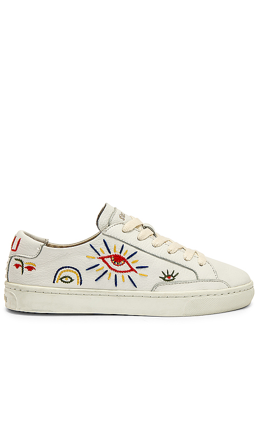 Soludos Ibiza Look Sneaker in White. - size 7 (also in 5.5,6,6.5,7.5)