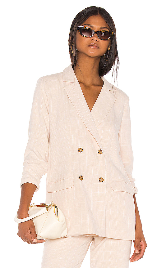Song of Style Kroy Blazer in Beige. - size XXL (also in XL)