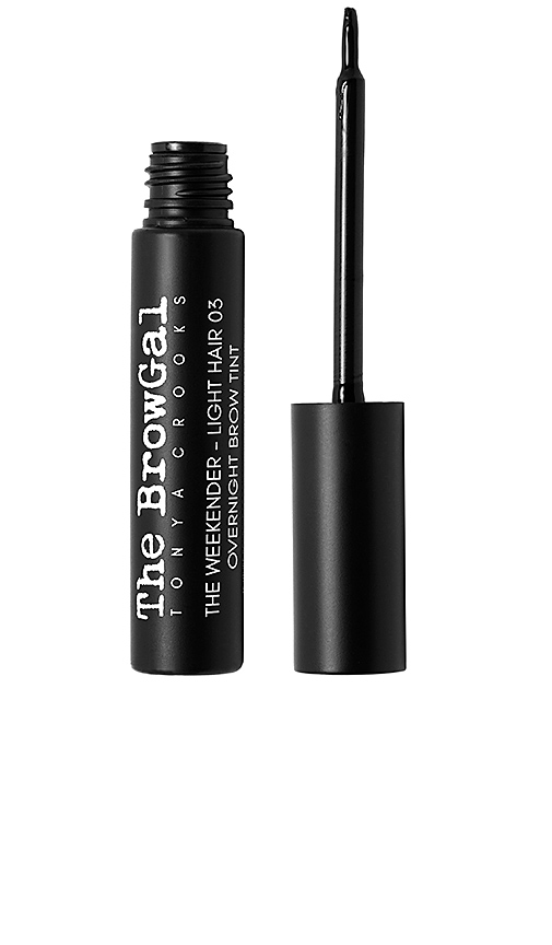 The Browgal The Weekend Overnight Brow Tint in Light Hair.