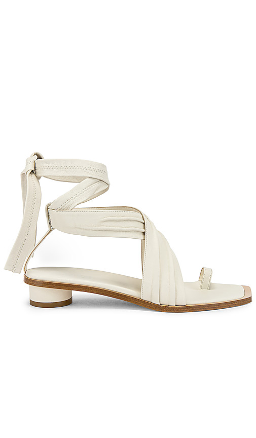 Tibi Miles Sandal in Ivory. - size 38 (also in 37.5,38.5)