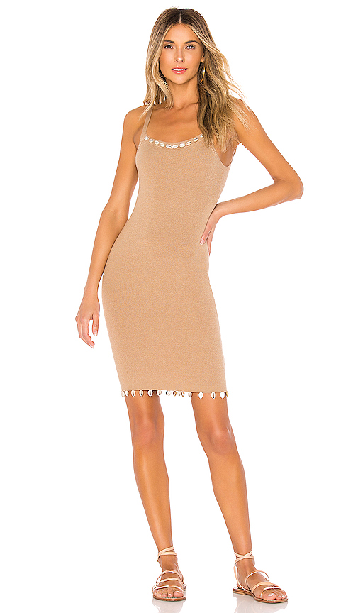 Tularosa Mauritius Dress in Nude. - size XL (also in XXS,XS,S,M,L)