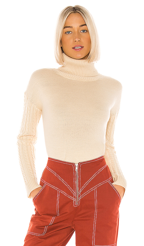 Tularosa Peachy Sweater in Cream. - size M (also in L,S,XS)