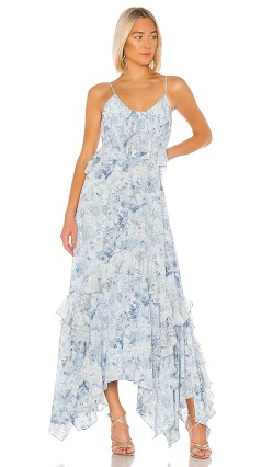 AMUR Promise Dress in Blue. - size 8 (also in 4,2,6)