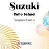 Tsuyoshi Tsutsumi - Suzuki Cello School, Vols. 3 & 4  artwork