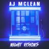 AJ McLean - Night Visions  artwork