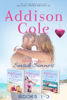 Addison Cole - Sweet with Heat: Seaside Summers, Contemporary Romance Boxed Set, Books 1-3  artwork