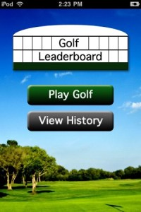 Golf Leaderboard on the App Store iPhone Screenshots
