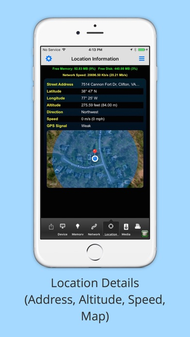 iMySystem - Your Device Details Screenshot