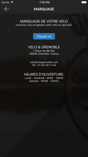Velo Grenoble on the App Store iPhone Screenshots
