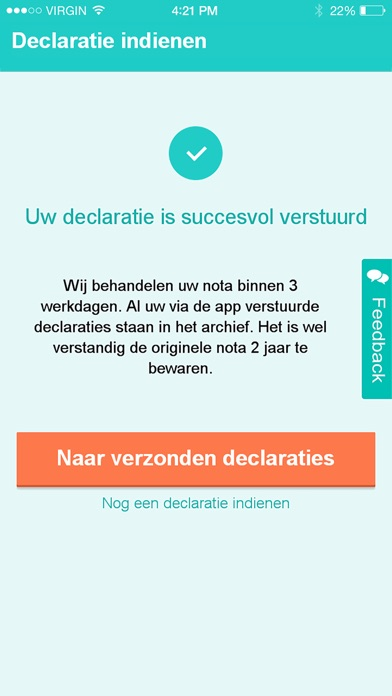 Interpolis Zorg Declareren IPhone App AppWereld