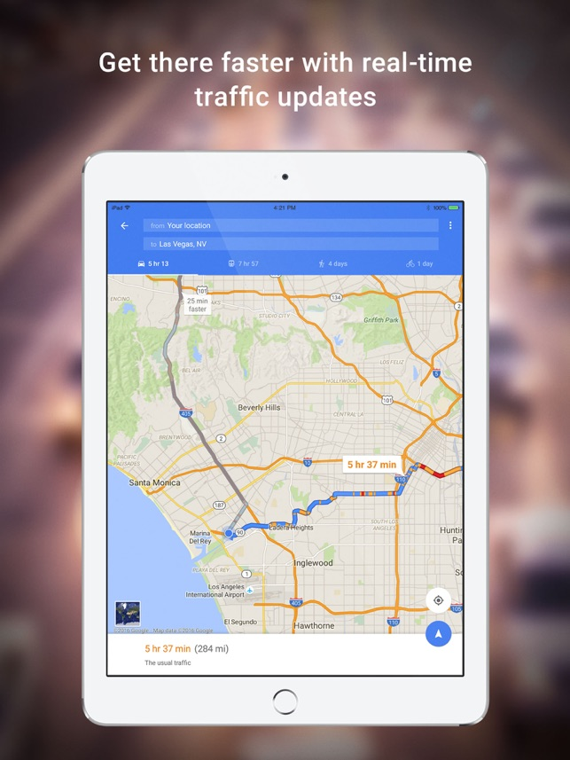 ‎Google Maps - Transit & Food Screenshot