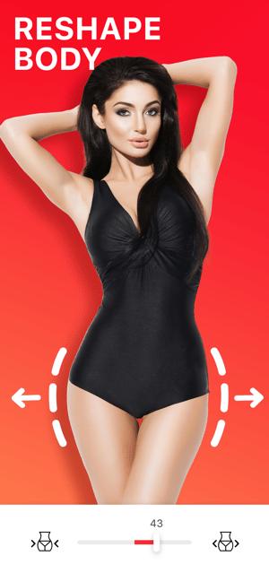 BodyTune: Vücut Foto Inceltme Screenshot