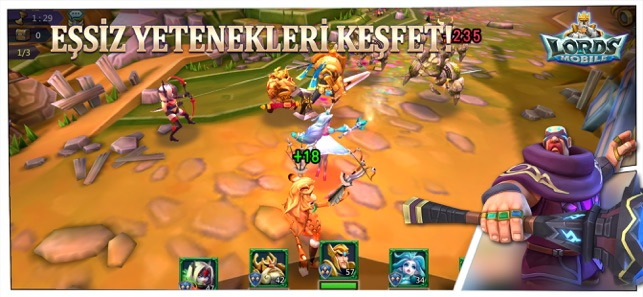 ‎Lords Mobile Screenshot