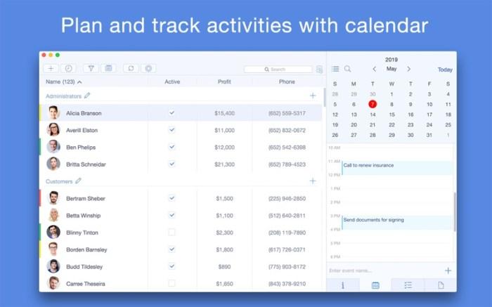 Top Contacts - Contact Manager Screenshot 02 133brun