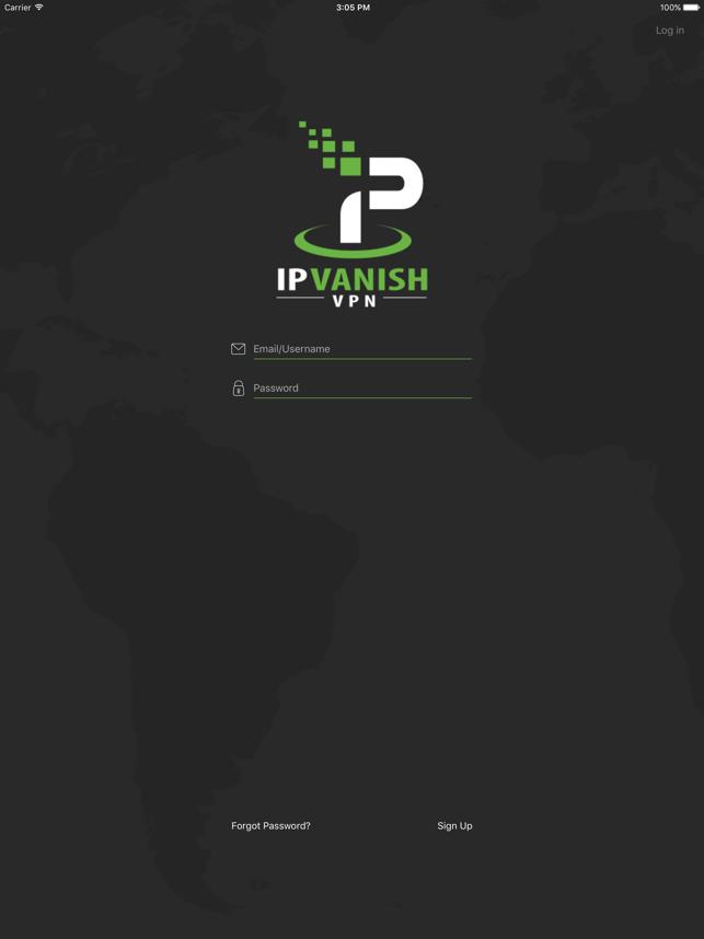 IPVanish VPN: The Fastest VPN Screenshot
