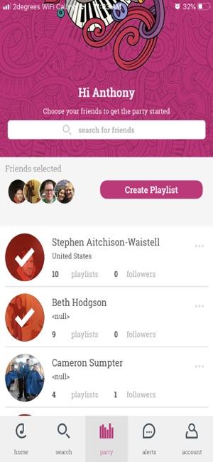 The Playlist Network Screenshot