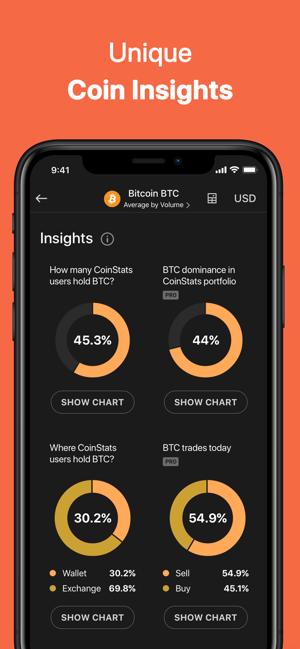 Coin Stats - Crypto Portfolio Screenshot