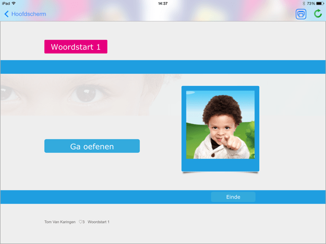 ‎Woordstart 1 Screenshot