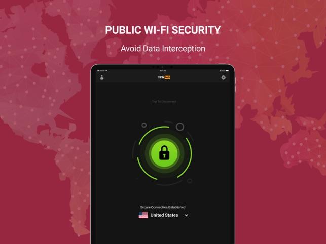 VPNHUB Unlimited Anonymous VPN Screenshot