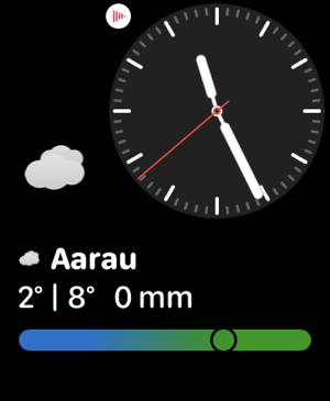 MeteoSwiss Screenshot
