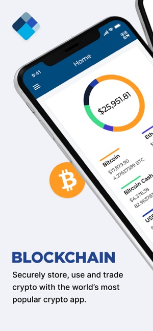 Blockchain Wallet: Bitcoin Screenshot