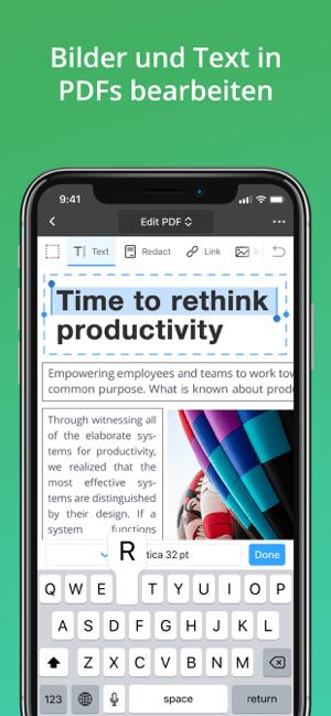 PDF Expert 7: PDF Creator Screenshot