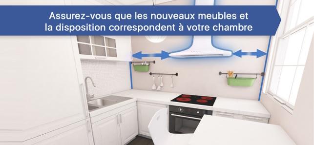 creer sa cuisine 3d dans l app store