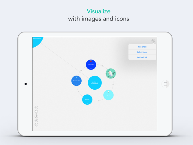 Mindly (mind mapping) Screenshot