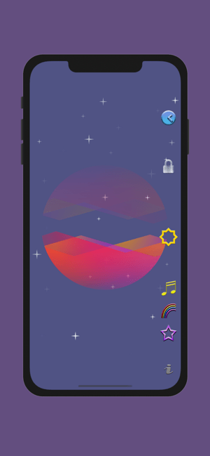 ‎Colourful Night Light: Calming Screenshot