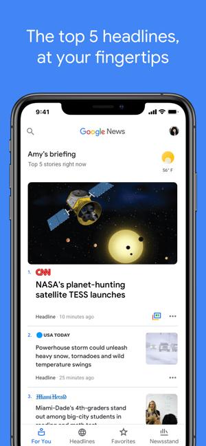 Google News Screenshot