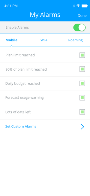 My Data Manager VPN Security Screenshot