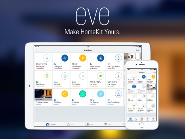 Eve - You. Home. Connected. Screenshot