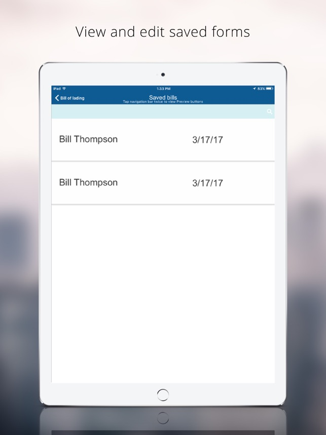 Bill of Lading Manager app on the App Store  Bill of Lading Manager app on the App Store