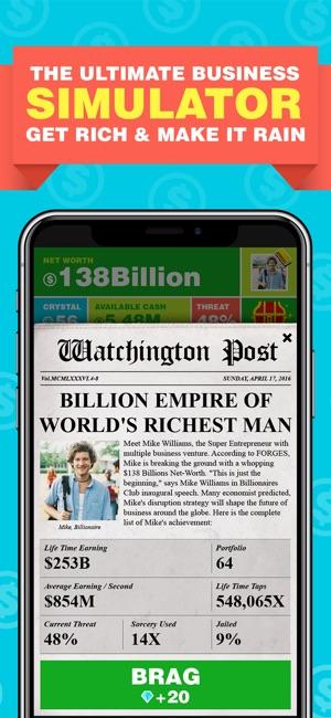 Billionaire Capitalist Tycoon Screenshot