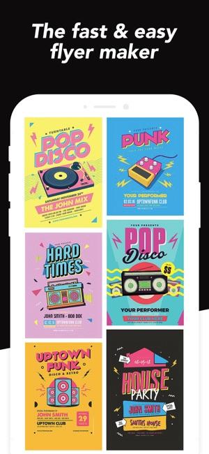Desyne: Flyer & Poster Creator Screenshot