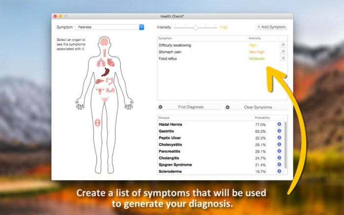 Health Check - Symptom Checker Screenshot 03 x36bkn