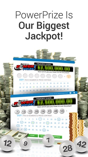 PCH Lotto - Real Cash Jackpots Screenshot