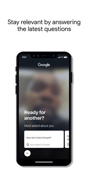 Cameos on Google Screenshot