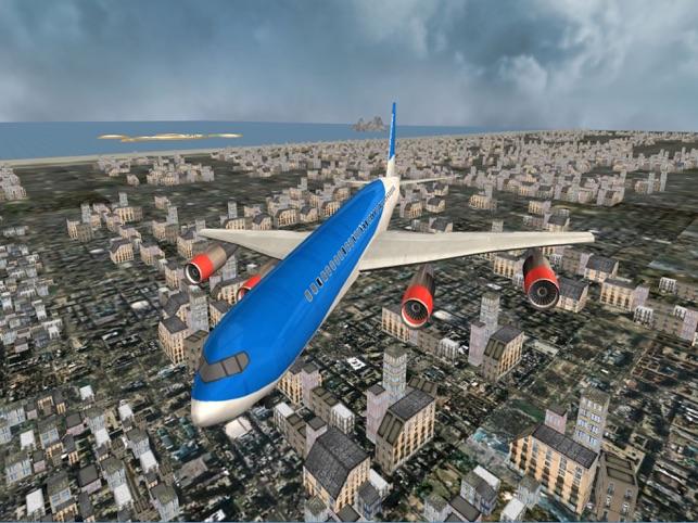 Airplane Pilot Flight Simulator 3D Screenshot