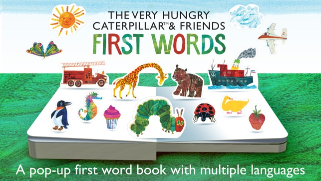‎The Very Hungry Caterpillar– First Words Screenshot