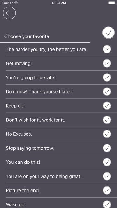 Screenshot do app Cheerleader - Stay Productive