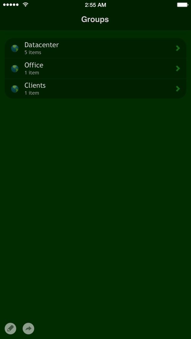 Net Status - Server Monitor Screenshot