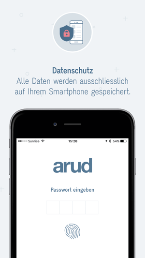 Arud Konsumtagebuch Screenshot