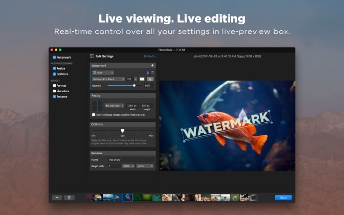 PhotoBulk: watermark in batch Screenshot 02 xnj6bn