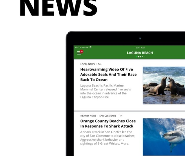 Patch Local News On The App Store
