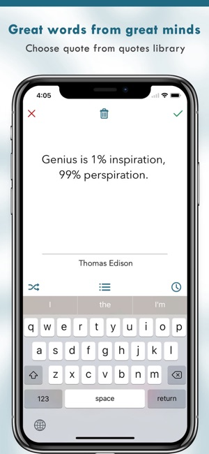 Image of: Aesthetic Wallpaper Screenshots Kamila Gornia Quotes Creator Quote Maker On The App Store