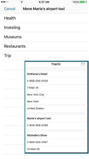VisuCaller Screenshot